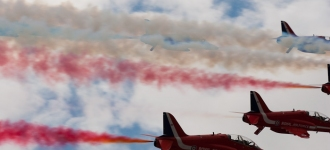 Red Arrows – Silverstone 2009