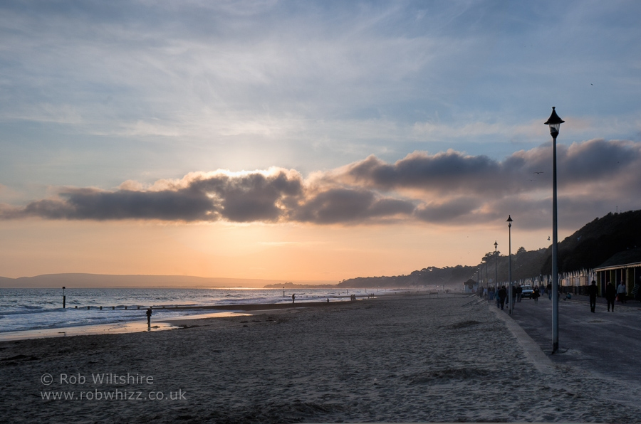Bournemouth – November Sunset